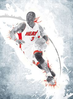 Dwyane Wade Illustration