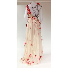 Water Witch in the West • agameofclothes: A Weirwood wedding gown,... ❤ liked on Polyvore featuring dresses