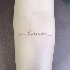 Image result for lumos tattoo