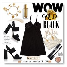 """LBD: Under $100"" by mponte ❤ liked on Polyvore featuring Kevyn Aucoin, Derek Lam, Barneys New York, Été Swim and Obsessive Compulsive Cosmetics"