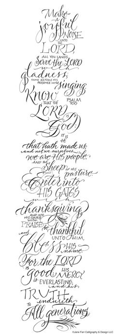 A Place To Flourish: Psalm 100 - Giving Thanks