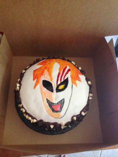bleach cake i will not eat it :p :p