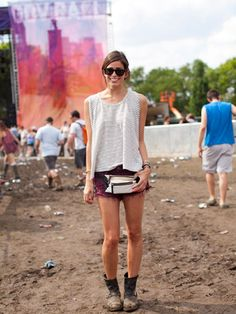 Street Style at the Governors Ball 2013, Sara.