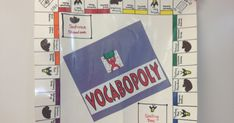 In my last post I promised that I would post instructions for creating a VOCABOPOLY game board and directions for how to play the game. Her...
