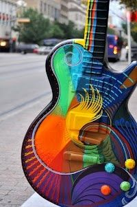 vibrant music only in Austin,TX
