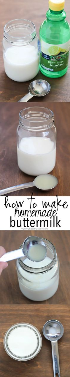 Kitchen Hack: How To Make Homemade Buttermilk! #TheHacksofLife #ad