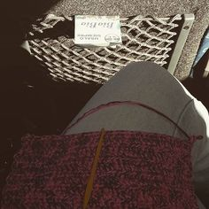 Que mejor que un tejido para amenizar un viaje ;) #natigurumis