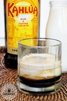 Got The Big Lebowski on your mind? Mix up a classic White Russian Cocktail. This is such an easy vodka drink to make and is a throwback to the classic movie! #ramshacklepantry #kahlua #vodka #cream #coffee #easydrinks