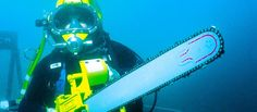 Victory green River Diver's Knife - original diving knife suitable as deep sea divers knife and commercial riggers knife. Welding Equipment, Welding Tools, Underwater Welding Schools, Scary Mermaid, Diving School, Schools Around The World, Diving Equipment, Green River, Training Center
