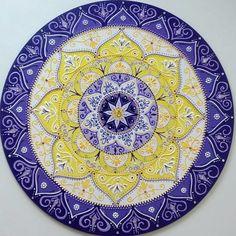 Mandala mdf Iluminação Interior 40cm