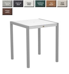 Trex® Surf City Square Counter Table