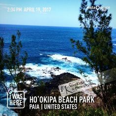 I loved the view here #hookipabeachpark in #paia the #blues are inspirations for my #watercolor #art #painting #mauilifeisgood #blessed #westkirkley #westphd #vacationworktrip