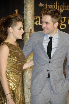 Robert Pattinson and Kristen Stewart in Berlin
