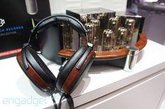 Sennheiser Orpheus HE90 headphones ears-on