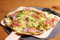 Schöner Tag noch! Food-Blog mit leckeren Rezepten für jeden Tag: Spitzkohl-Flammkuchen mit Schwarzwälder Schinken