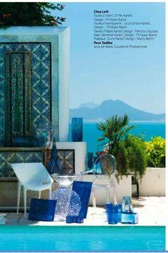 Dar Said in Sidi Bou Said Tunisia  So incredible june 2011 for Maisons de Tunisie