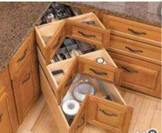 Virtuvės spintelių kampas