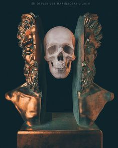 Artist Creates Sculptures Of Ancient Deities And Mythological Creatures With A Modern And Surreal Twist - KOMEX Ancient Greek Sculpture, Vaporwave Art, Greek Art, Mythological Creatures, Types Of Art, Aesthetic Art, Deities, Art And Architecture, Art Sketches