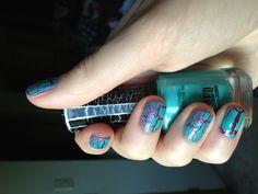 Fun crackle nails using LA Splash polish #lasplashnailpolish #crackle #nail #polish Crackle Nails, Image Nails, Spring Nails, Acrylic Nails, Lashes, Nail Designs, Nail Polish, Fun, Eyelashes