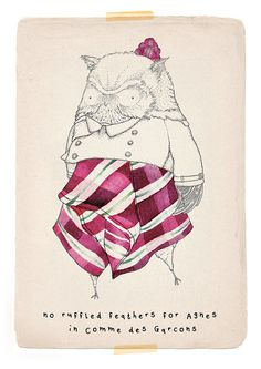 Little Doodles are the creations of London based illustrator Kate Wilson