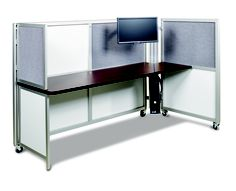 Add-on Privacy Panel    Available for both Solo and Solo+ heights the privacy panel can be easily be folded up when not in use. Available in any of our upper panel materials.