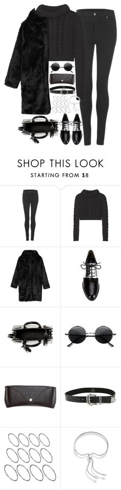 """Untitled#4200"" by fashionnfacts ❤ liked on Polyvore featuring Cheap Monday, TIBI, Monki, 3.1 Phillip Lim, Yves Saint Laurent, Retrò, H&M, B-Low the Belt, ASOS and Monica Vinader"