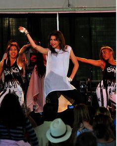 \ Zendaya and her Zswag Dancers performing at the Marin County Fair /