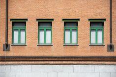 """Palazzo per uffici """"Casa Aurora"""", Aldo Rossi. © Angelo Morelli"""