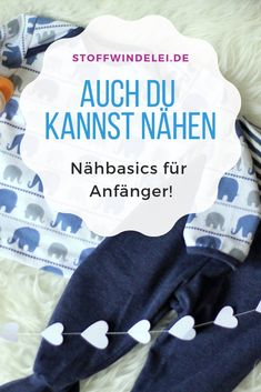 Sewing basics: the most common beginner questions - Stoffwindelei.de The most important sewing basics - here! Helpful tips and free sewing instructions for your baby starter set. Knitting Projects, Knitting Patterns, Sewing Projects, Sewing Patterns, Easy Baby Blanket, Bulletins, Starter Set, Sewing Basics, Diy