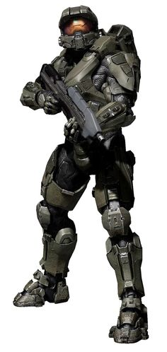 Halo 4 - Master Chief. Just had to add him in here :b