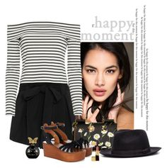 """""""Happy Moment"""" by katiethomas-2 ❤ liked on Polyvore featuring L'Agence, 10 Crosby Derek Lam, Dolce&Gabbana, Étoile Isabel Marant and Annick Goutal"""