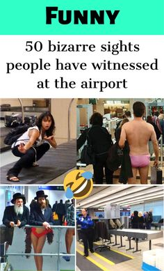 50 bizarre sights people have witnessed at the airport Top 10 Actors, Polar Bears Live, Bun Hairstyles For Long Hair, Diy Hairstyles, Epic Tattoo, Bizarre Pictures, Embarrassing Moments, Funny Pins, Funny Stuff