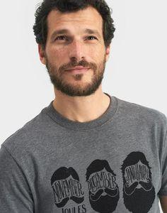 Graphic print Castle Rock Grey T-Shirt | Joules UK