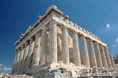 Parthenon, athens, greece by Olivier Meerson, via Dreamstime