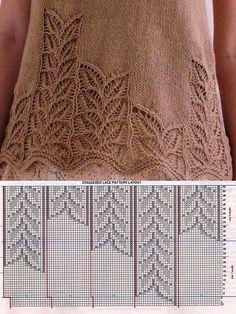 2019 Modell Pink Pistachio Flowers Women Vest and Baby Knitting Pattern Baby Knitting Patterns, Knitting Charts, Lace Patterns, Knitting Designs, Knitting Stitches, Stitch Patterns, Crochet Patterns, Knitting Looms, Crochet Edgings