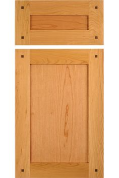 Shaker Cabinet Door In Cherry With Square, Walnut Pegs By TaylorCraft Cabinet  Door Company Cabinet