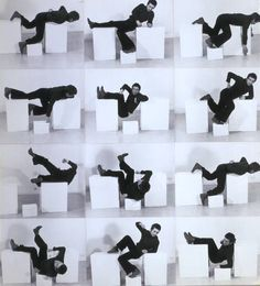 'Bruce McLean Pose Work for Plinths 3  1971'
