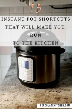 "The Instant Pot is way more than just an electric pressure cooker; check out this fun list of my favorite hacks and ""wait, that too!"" recipes to try! Electric Pressure Cooker, Instant Pot Pressure Cooker, Pressure Cooker Recipes, Pressure Cooking, Slow Cooker, Easy Cooking, Cooking Time, Cooking Hacks, Cooking Quotes"