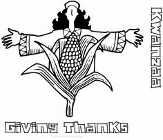 free kwanzaa coloring pages for kids