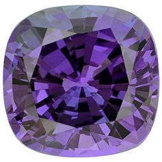 Natural Tanzanite step cut cushion, 18.12cts.  More @ www.multicolour.com and #gemstones