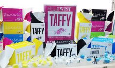 Taffy from Sweet Candy Company, winner, Best Use of Color, chosen by Goldforest on Branding, Fancy Food Show 2013