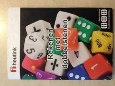Rekenen met dobbelstenen een boekje met allerlei rekenspellen met dobbelstenen