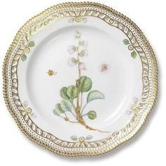 Royal Copenhagen Flora Danica----WOW!  The worlds most expensive china.  This is absolutely gorgeous.  Imagine having a set of this in your china cabinet!!!!!
