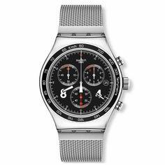 Swatch Men's YVS401GB 'Irony ie' Chronograph Watch