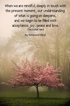When we are mindful... repinned by http://www.tools-for-abundance.com/Mindfulness.html