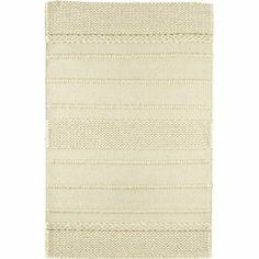 Weave Rug in White