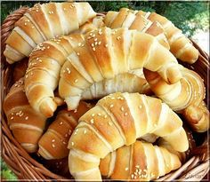 Recipes, bakery, everything related to cooking. Sweet Pastries, Bread And Pastries, Salty Snacks, Hungarian Recipes, Hungarian Food, Cata, Winter Food, No Bake Cake, Food And Drink