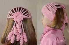 Resultado de imagen para adornos para el cabello a crochet