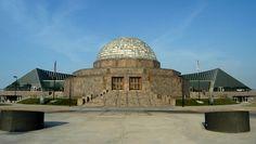 Adler Planetarium...Bret and I love the stars