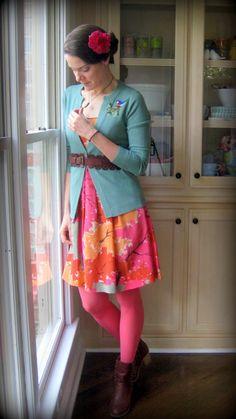 Cassie Stephens: What the Art Teachers Wore #79 Art Teacher Outfits, Teacher Wear, Teacher Wardrobe, Teacher Clothes, Teacher Fashion, Crazy Outfits, Fall Outfits, Cute Outfits, Casual Outfits